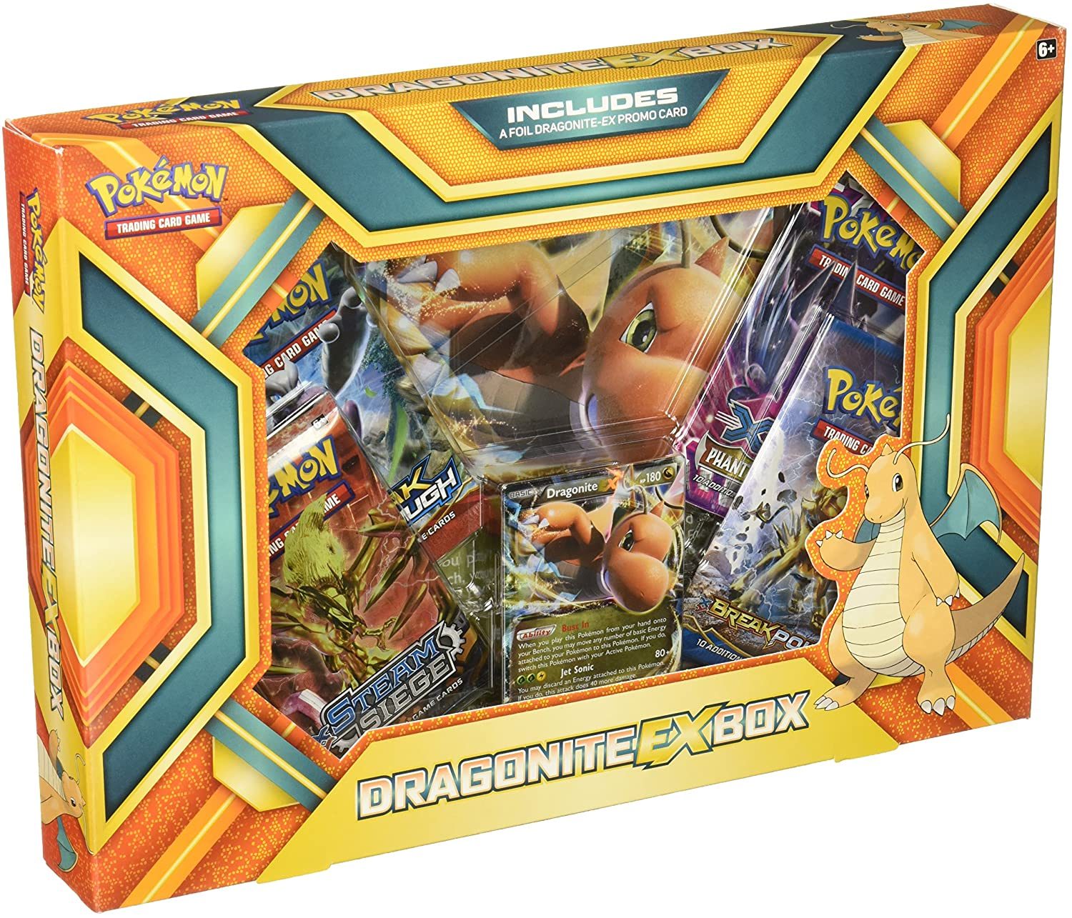 Speelgoed Pokemon POC424 Dragonite Ex Box - Caja de Cartas ...