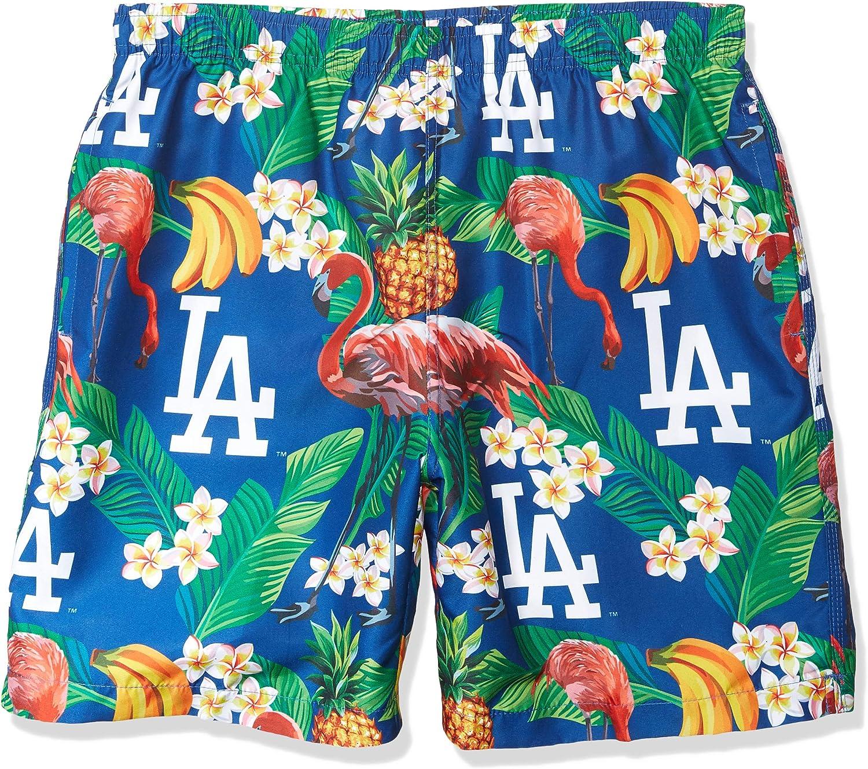FOCO MLB Mens Floral Walking Short