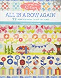 Moda All-Stars - All in a Row Again: 23 Row-by-Row Quilt Designs