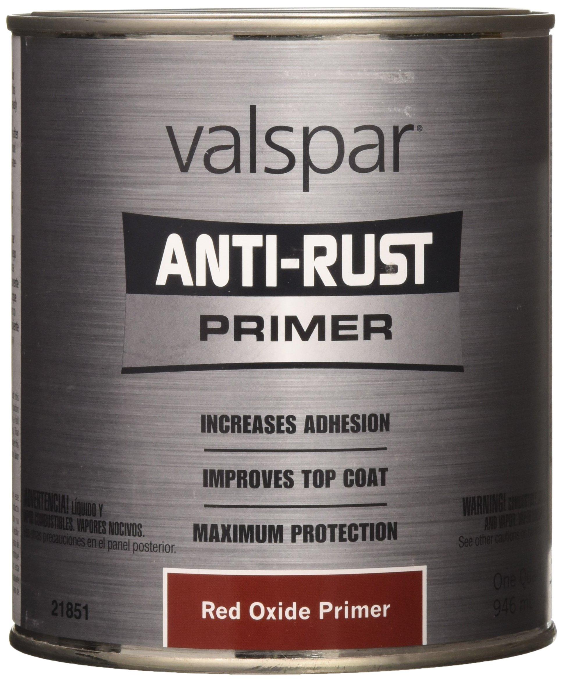 Valspar 21851Q Red Oxide Primer Enamel - 1 Quart