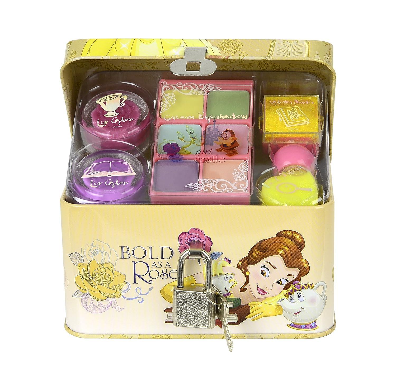 DISNEY Princess Boîte/coffret de Maquillage en Métal la Belle/la Bête 9705510