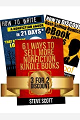 Kindle Publishing Package: How to Discover Best-Selling eBook Ideas + How to Write a Nonfiction eBook in 21 Days + 61 Ways to Sell More Nonfiction Kindle Books (English Edition) eBook Kindle