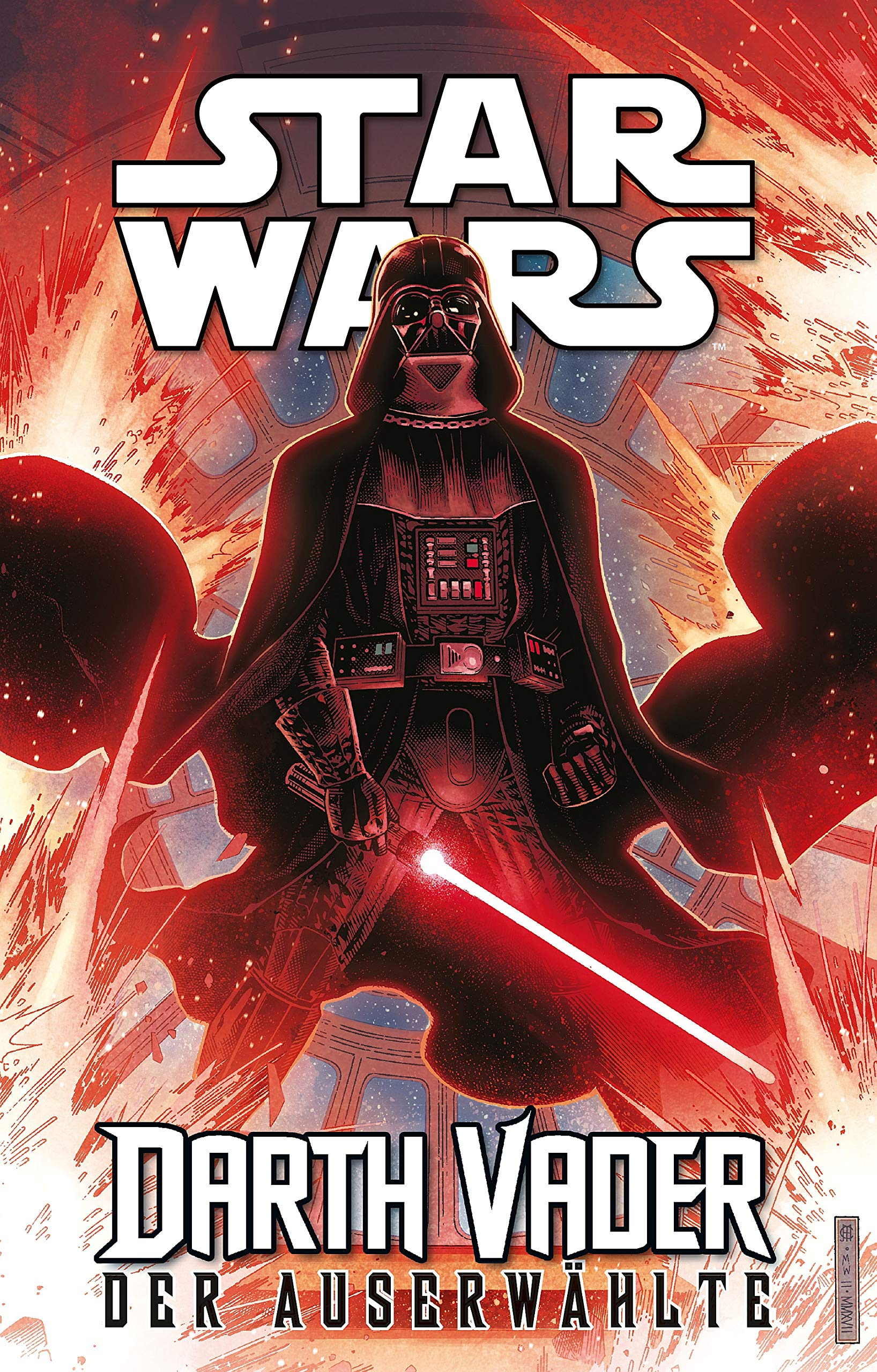 Star Wars Comics   Darth Vader  Ein Comicabenteuer   Der Auserwählte