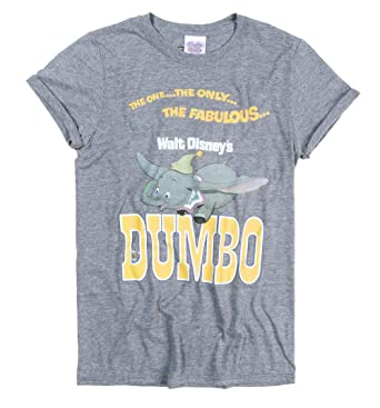 6fb327028 Womens The One The Only The Fabulous Dumbo Rolled Sleeve Boyfriend T Shirt  Grey