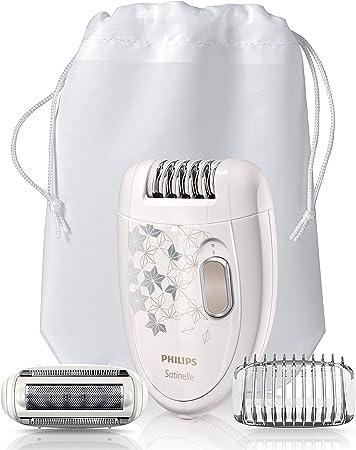 Pinzas suaves eliminan los pelos de sólo 0,5 mm, sin tirar de la piel,Cabezal depilador lavable para