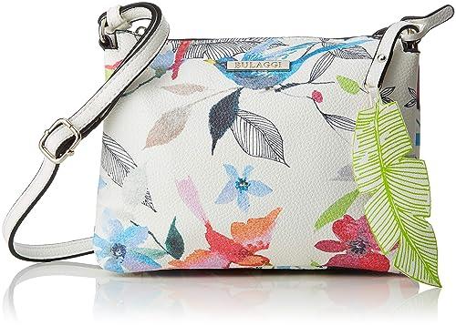 0875a41f8b3 Bulaggi Birdy Crossover Women's Cross-Body Bag, Multicolour (Multi),  05x18x22 Centimeters