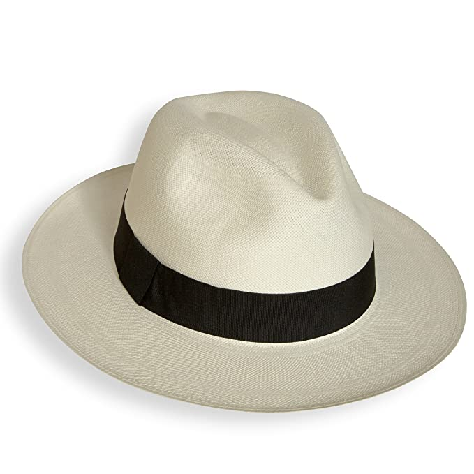 Men's Vintage Style Hats Tumi Fino rollable/foldable Panama hat fair trade hand woven in Ecuador �84.95 AT vintagedancer.com