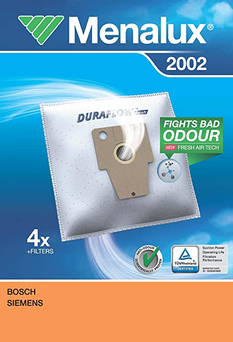 Menalux 2002 Duraflow - Bolsas para aspiradoras Siemens VS ...