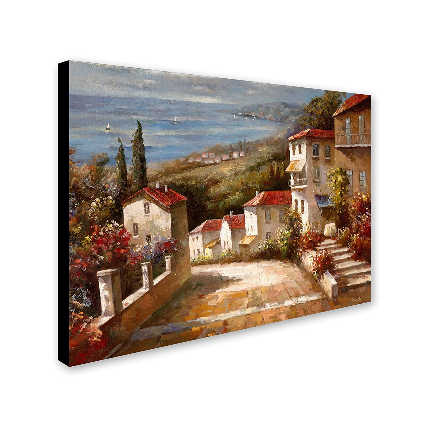 Trademark ArtHome in Tuscany Canvas Art by Joval