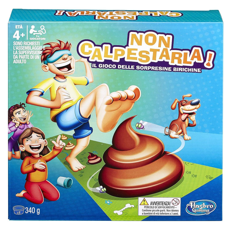 Spiel in Beh/älter Hasbro Gaming Nicht calpestarla.