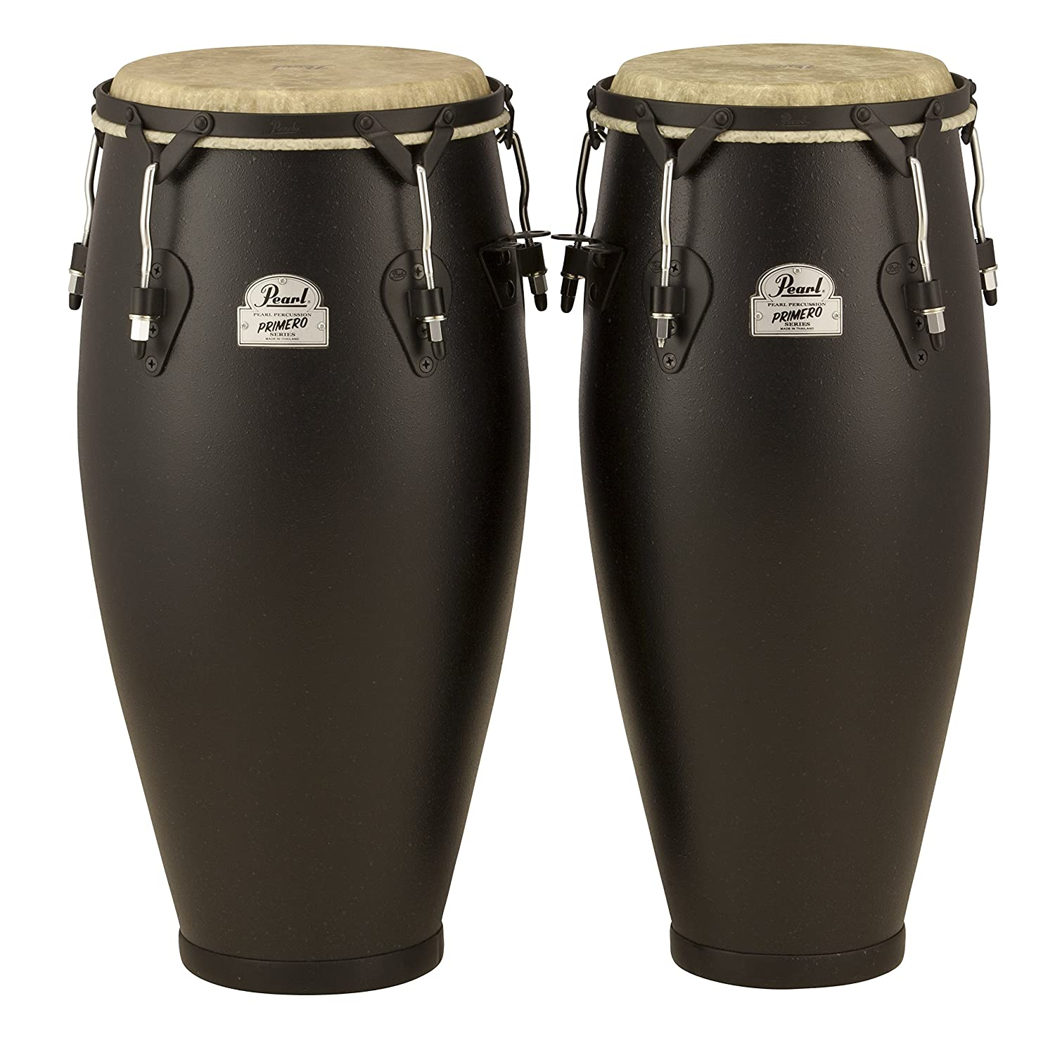 Pearl PFC202EDU649 10-Inch and 11-Inch Primero Field Percussion Fiberglass Conga Set without Stand Pearl Corporation