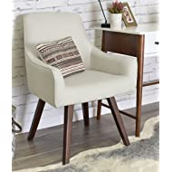 ELLE Décor Paige Home Office Chair - French Ivory