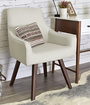 ELLE Décor Paige Home Office Chair   French Ivory
