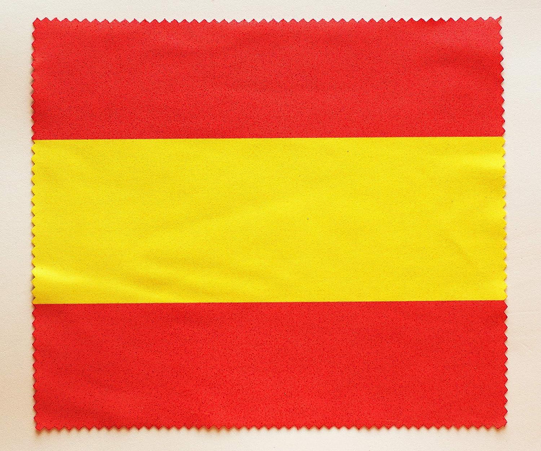 Tarja 73 | Paño Microfibra con la Bandera española Limpia Lente | Limpia Polvo | Limpiador cámara | Limpiador de Pantalla | Gamuza Suave para Gafas | Regalo Original | Bandera de España: Amazon.es: Hogar