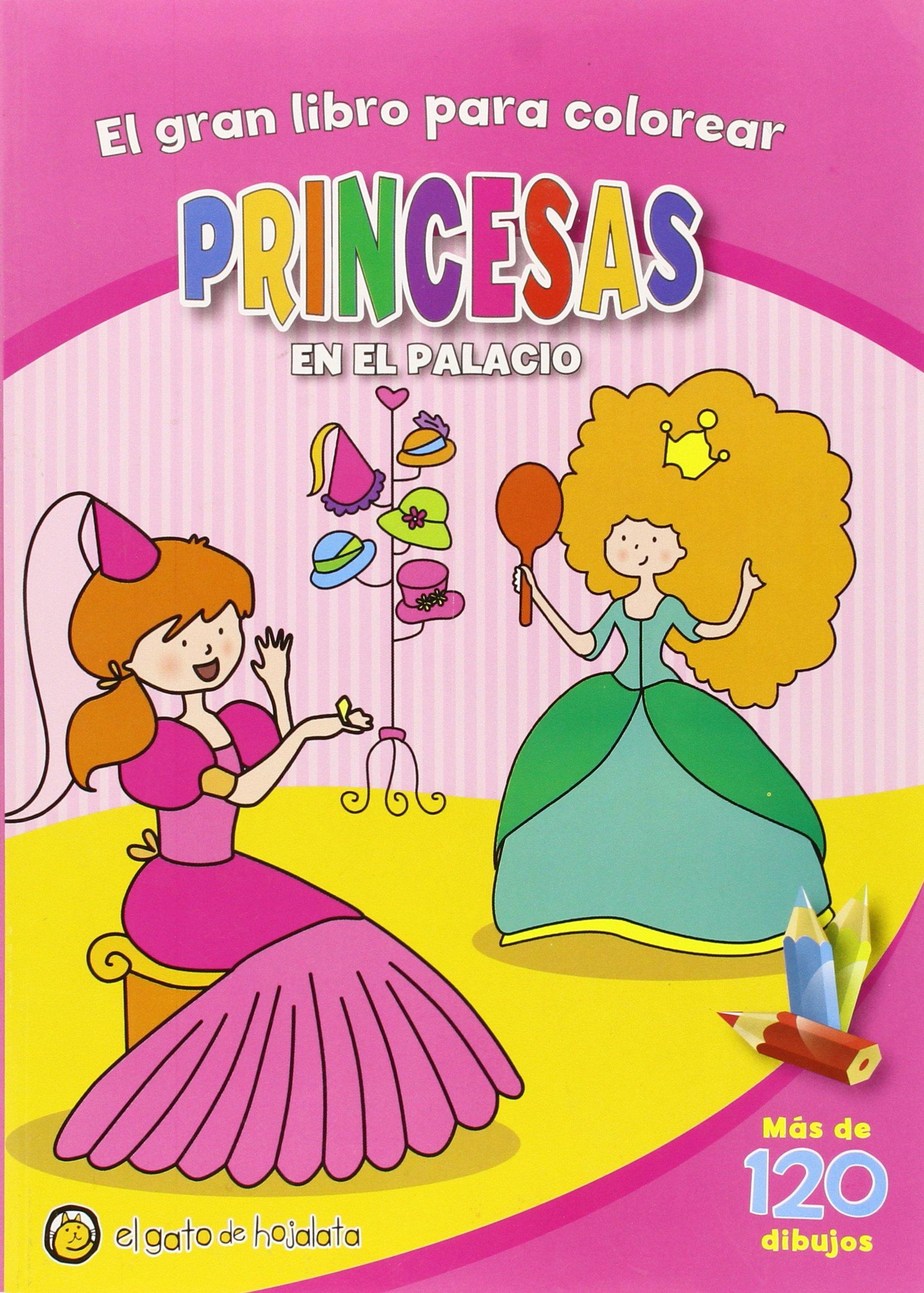 El Gran Libro Para Colorear Princesas: Amazon.com.mx: Libros