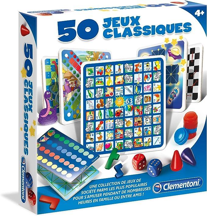 Clementoni - 52165.4 - 50 Juegos Clásicos: Amazon.es: Juguetes y juegos