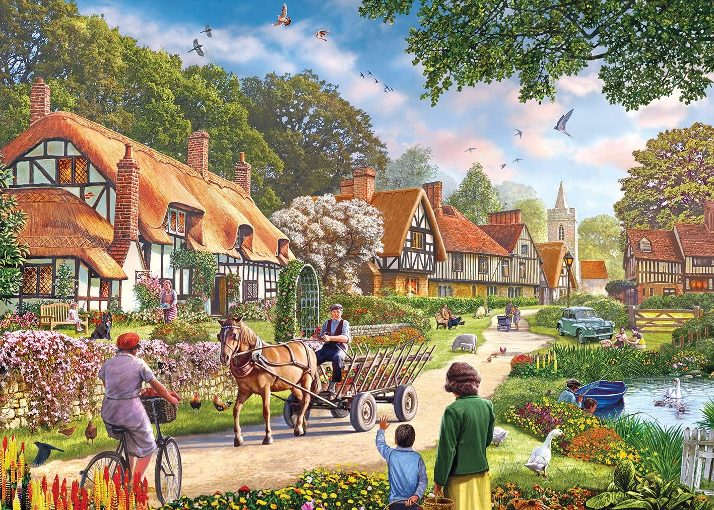 Gibsons Rural life Jigsaw Puzzle (1000