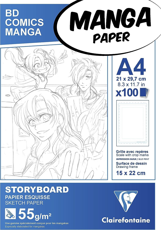 papel para dibujar manga