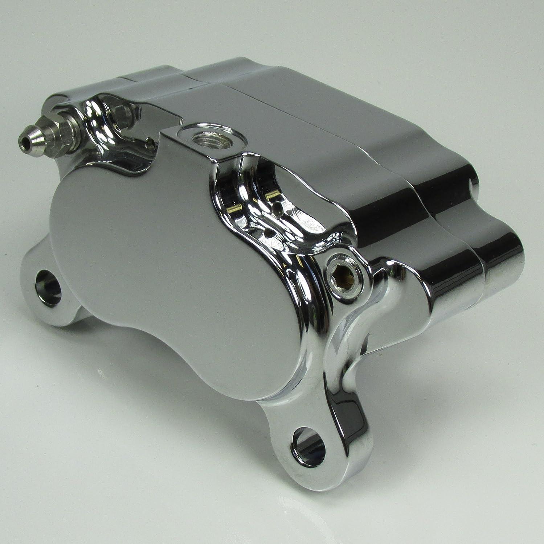 4-Piston Motorcycle Brake Caliper Chrome