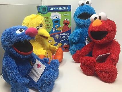 Amazon Com Sesame Street Kohls Cares Elmo Cookie Monster Grover