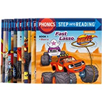 Monster Phonics (Blaze and the Monster Machines): 12 Step into Reading Books