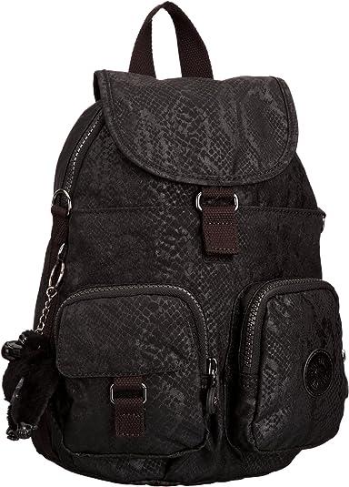 Kipling Firefly N, Mochila para Mujer, Black (Black Snake), 22x31x14 cm (B x H x T): Amazon.es: Equipaje