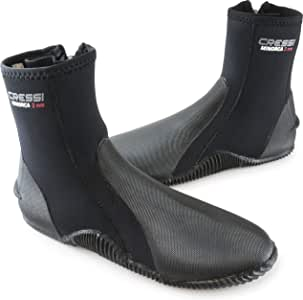 Cressi Neoprene Adult Anti-Slip Sole Boots - for Water Sports: Scuba Diving: Snorkeling, Diving, Rafting, Windsurfing - Minorca: designed in Italy