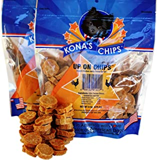 product image for KONA'S CHIPS Up On Chips Round Chicken Jerky for Dogs