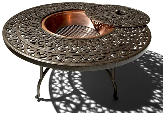 Strathwood St. Thomas Cast-aluminum Fire Pit with Table Review