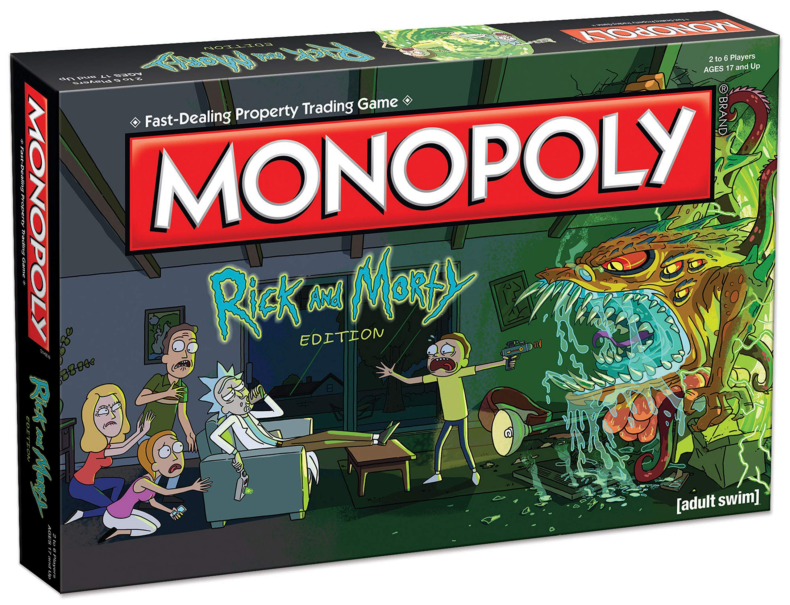 Monopoly: Rick and Morty: Amazon.es: USAopoly: Libros en idiomas extranjeros