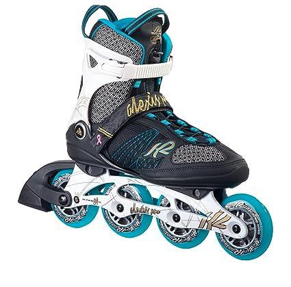 f2553258d89 Amazon.com : K2 Skate Women's Alexis Pro 84 Inline Skates, White ...