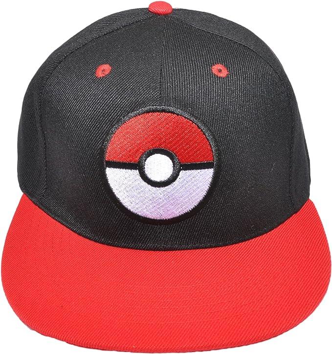 Cappellino da baseball Team Mystic ispirato al cartone animato Pokemon con chiusura sul retro Accessorio per allenatori e costumi cosplay
