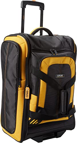 Lucas Accelerator 22 Inches Bag, Black Yellow, One Size