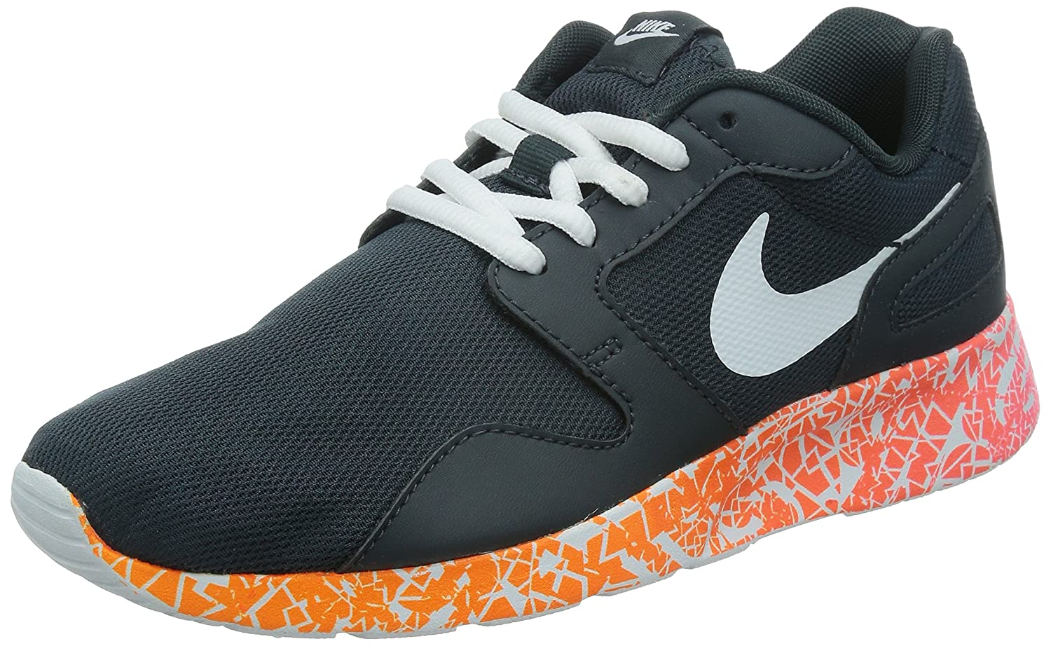 uk availability a5806 2f4e6 Nike Women s Kaishi Print Running Shoes (9.5, Classic Charcoal Pink  Pow Total Orange White)  Amazon.co.uk  Sports   Outdoors