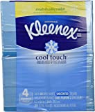 Kleenex Cool Touch Tissues, Upright - 50 Count - 4 Pack - Graphics May Vary