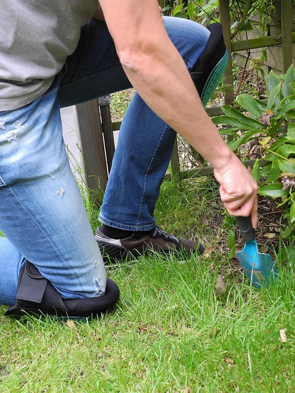 QUMAXX, Rodilleras de gel/ Protectores de rodillas para el trabajo y el jardín - Rodilleras profesionales/ Protectores de rodilla para jardinería y trabajos ...