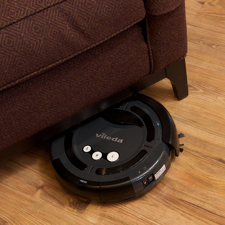 Vileda de limpieza del robot aspirador robótico (UK Version) - Gris (Producto con enchufe de UK): Amazon.es: Hogar