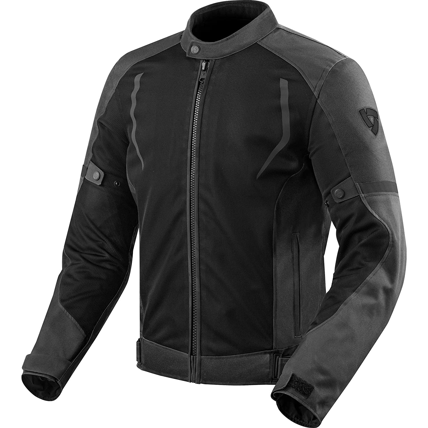 FJT247 - 1010-M - Rev It Torque Motorcycle Jacket M Black