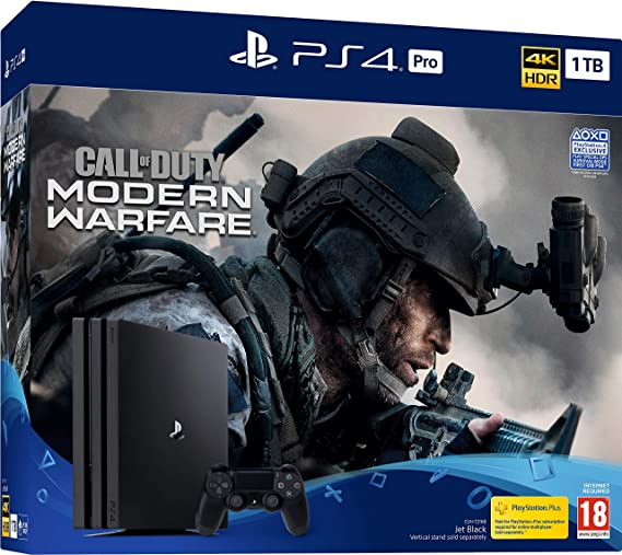Call Of Duty Modern Warfare Ps4 Pro Bundle Ps4 Amazon Co