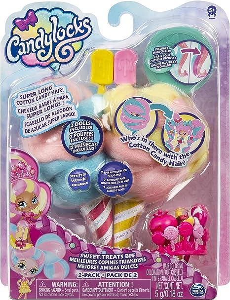 Cora Crème und Charli Chip Candylocks 6054718 Beste Freundinnen 2er-Pack
