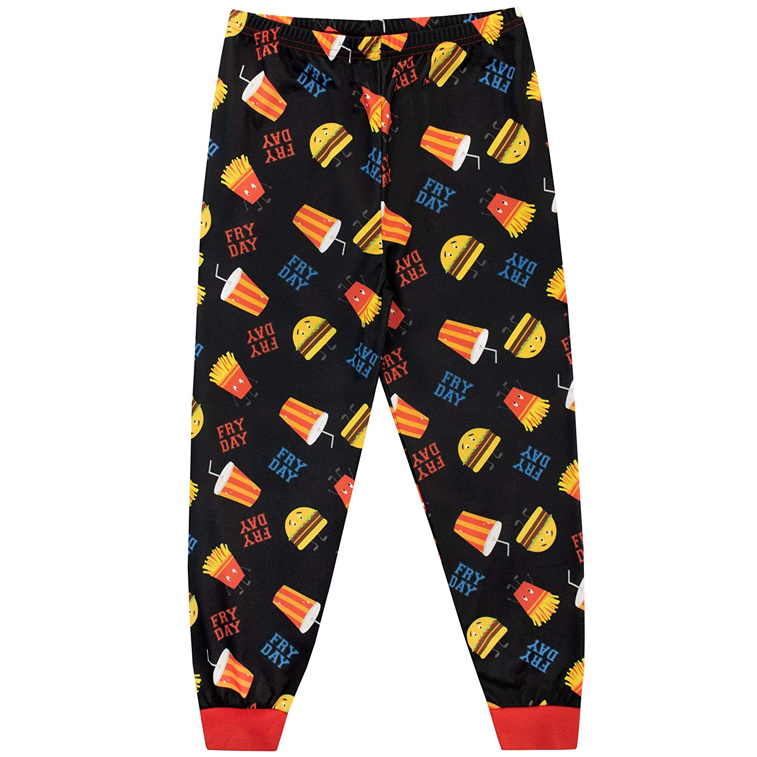 Harry Bear Boys Pajamas Every Day is A Fry-Day