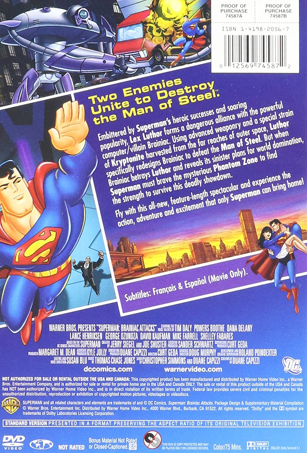Amazon.com: Superman: Brainiac Attacks: Movies & TV