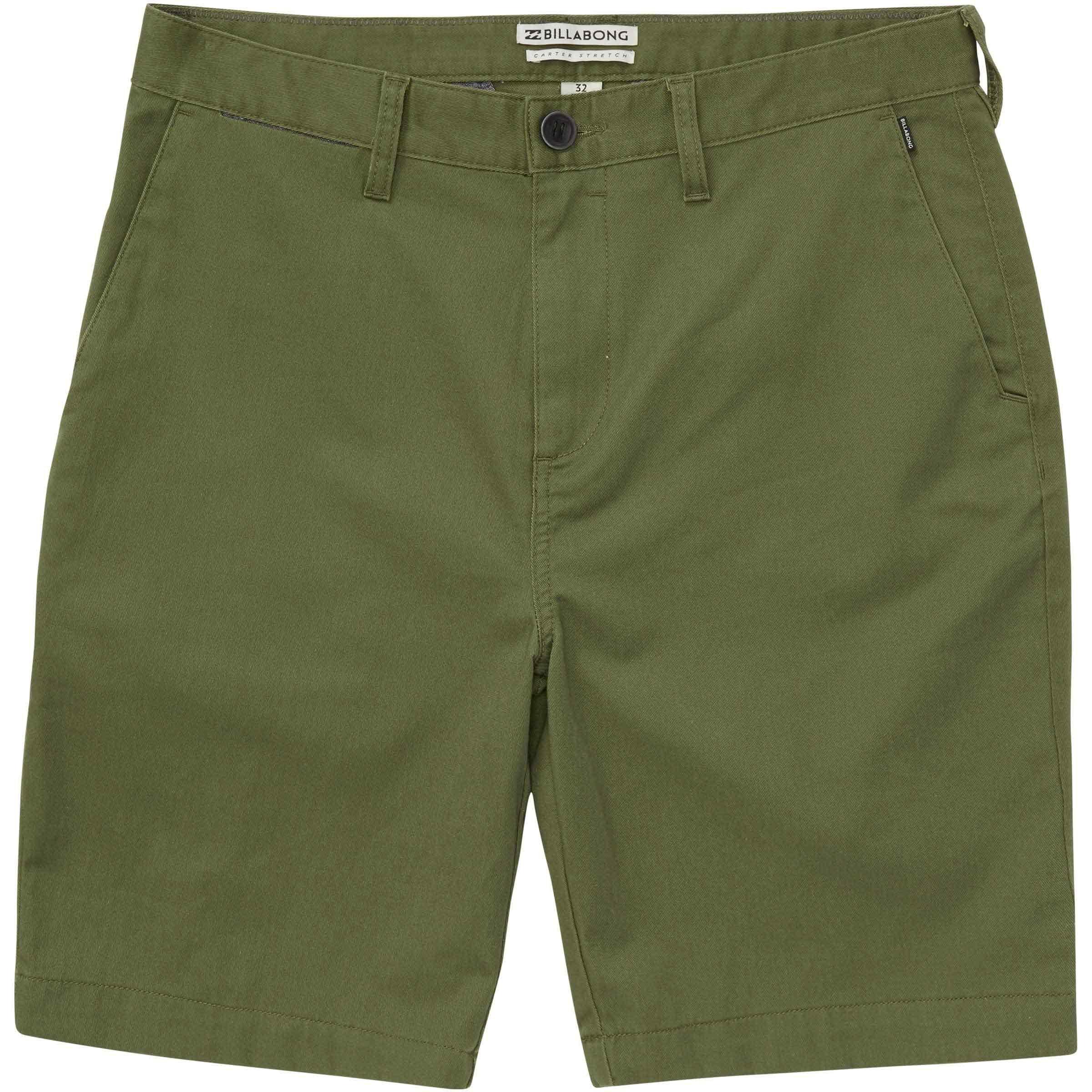 Billabong Boys' Carter Stretch Shorts Agave 3T