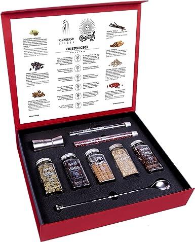 Kit de Gin Tónic con Botánicos & Especias para Cócteles 200 GR - Cocktail Botanicals & Spices: Amazon.es: Alimentación y bebidas