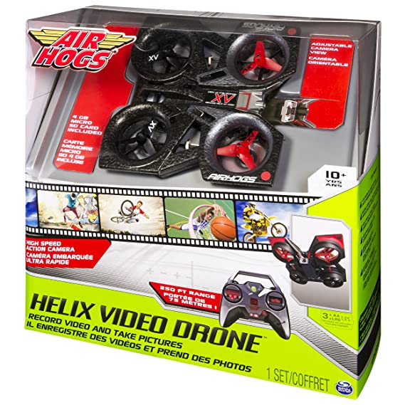 Air Hogs - Helix X4 Video Quad Copter: Amazon.es: Juguetes y juegos