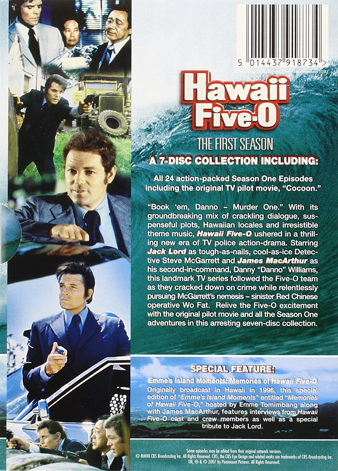 Hawaii Five-O: The First Season [DVD]: Amazon co uk: Jack Lord
