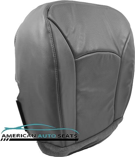 Passenger Bottom Vinyl PERFORATED Seat Cover GRAY 00-02 E-Series Econoline Van
