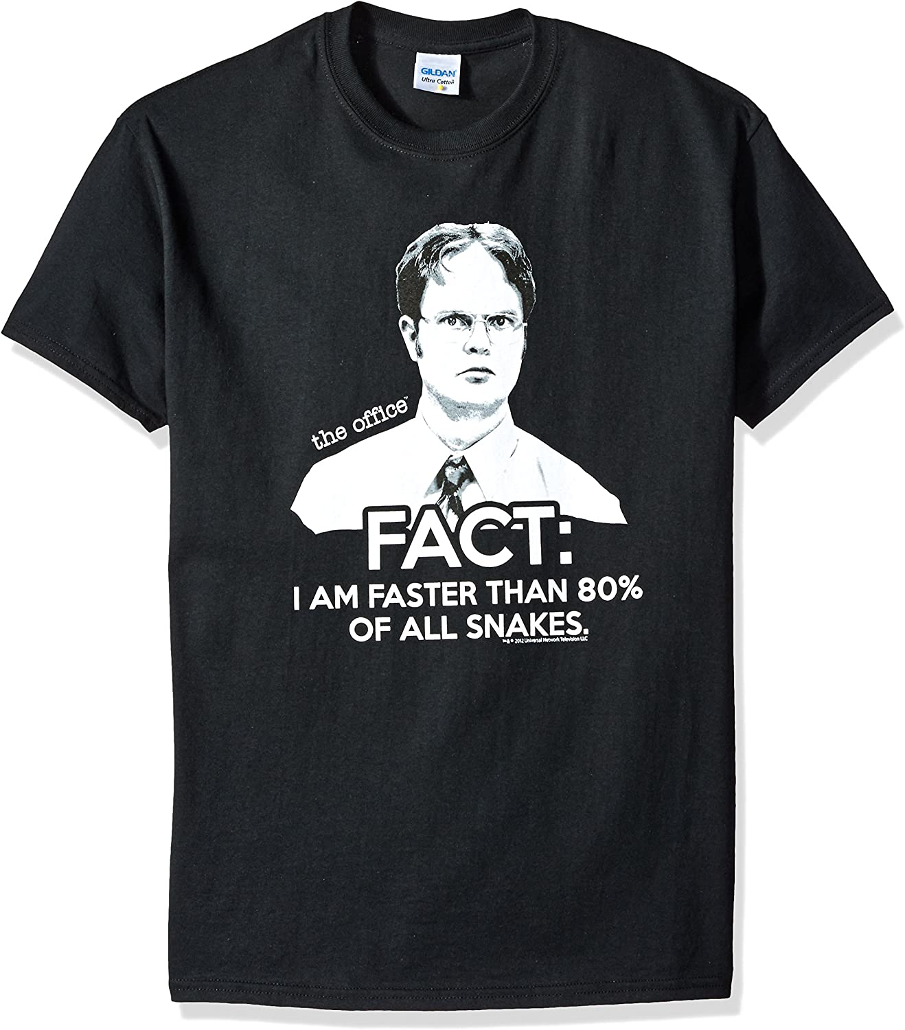 The Office Dwight Fact Faster Than Snakes T-Shirt