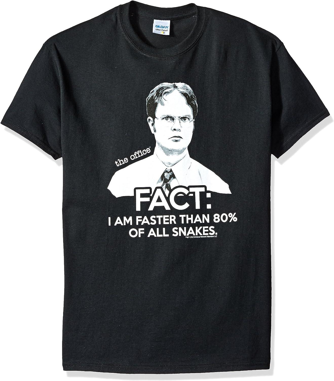 T-Line Men's Fact The Office T-Shirt