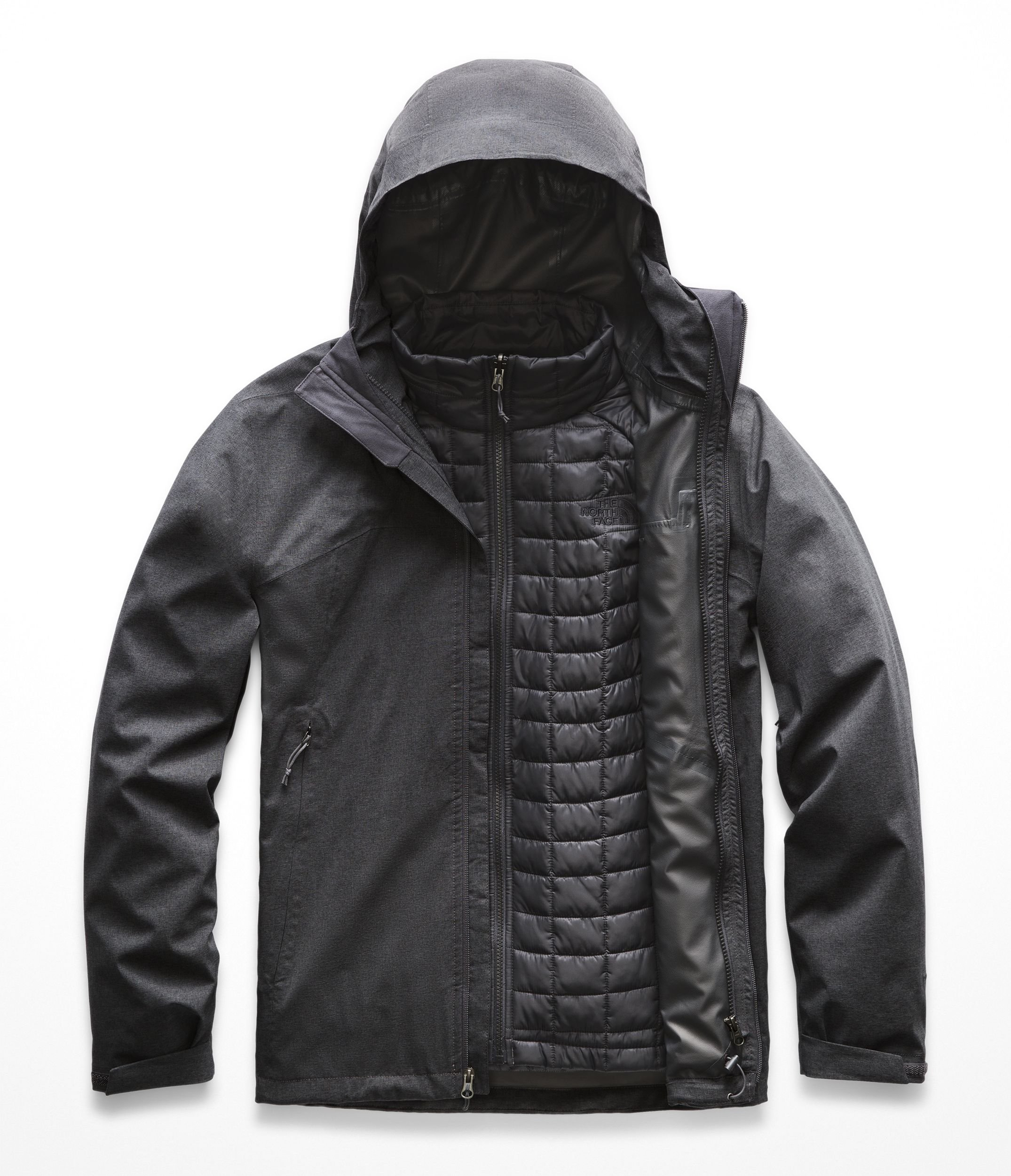 The North Face Men's Thermoball Triclimate Jacket - TNF Dark Grey Heather - XL by The North Face